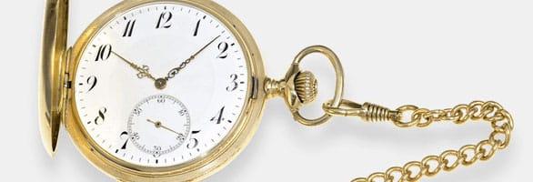 Goldene Taschenuhren Ankauf